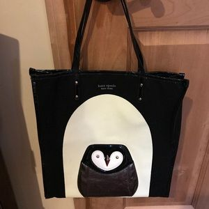 Kate Spade Penguin tote